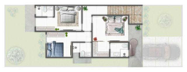 Casa de 4 Suítes (Uma Mstrer com Closet e Varanda) - Bairro Sim - Foto 3