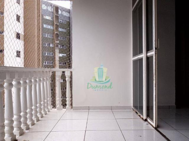 Apartamento com 2 dormitórios para alugar, 96 m² por R$ 1.500/mês no Centro em Foz do Igua - Foto 7