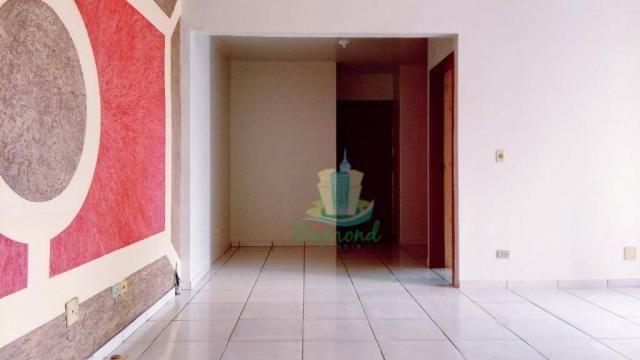 Apartamento com 2 dormitórios para alugar, 96 m² por R$ 1.500/mês no Centro em Foz do Igua - Foto 4