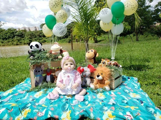 Bebê Reborn - Acessórios Exclusivos! - Foto 5