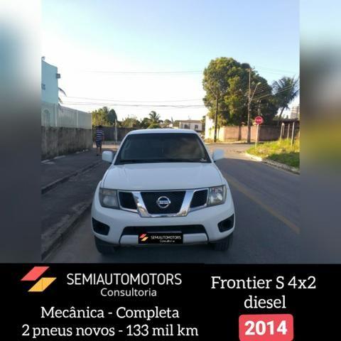 Nissan Frontier S Diesel 2013/ 2014 - Foto 8