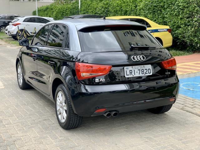 Audi A1 Turbo TFSI automático 4 portas com IPVA 2020 ok - Foto 7