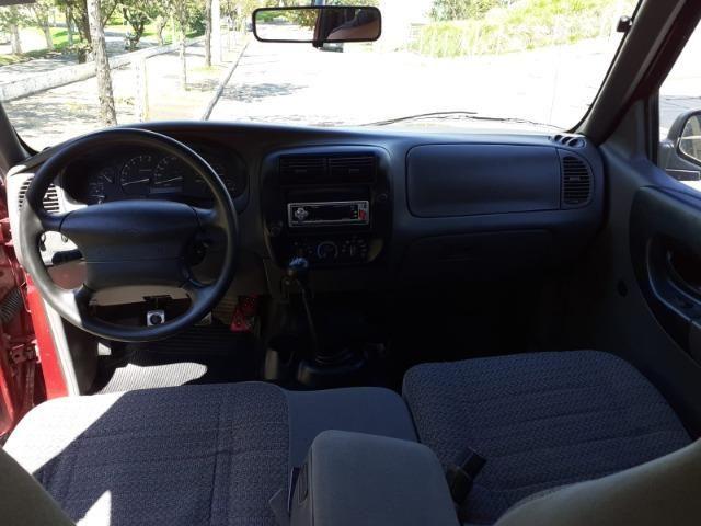 Ranger XL Cab. Dupla 2.5 Gasolina Ano 2001 Completa !! - Foto 4