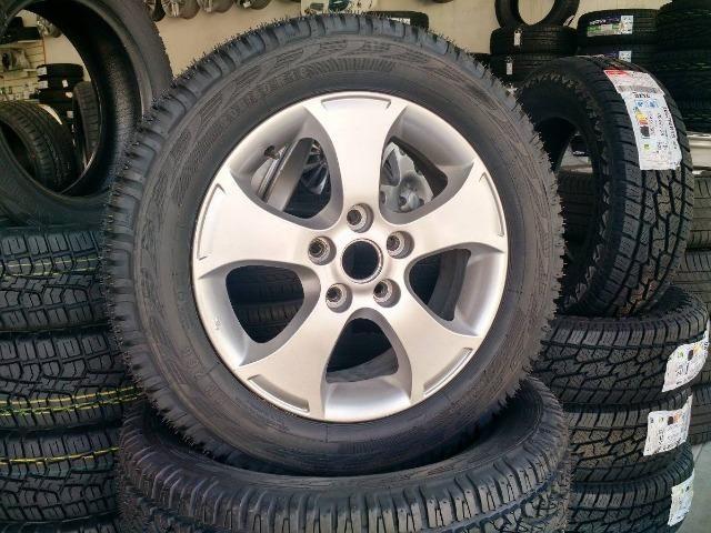 Pneu 205/60 R16 Remold (desenho Pirelli Scorpion Atr) - Foto 7