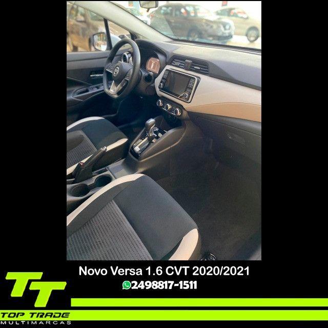 Novo Nissan Versa Advance 1.6 CVT 2021 0km - Foto 5