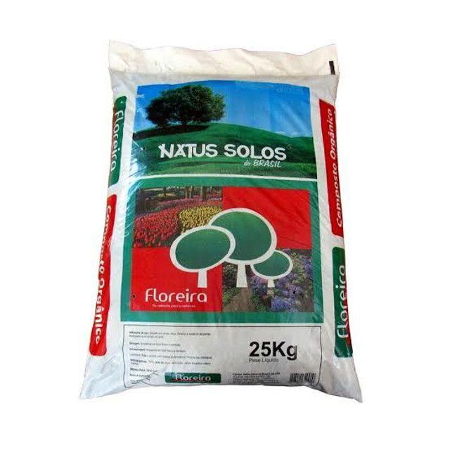 Composto Vegetal - Orgânico /  Terra Preta // Substrato