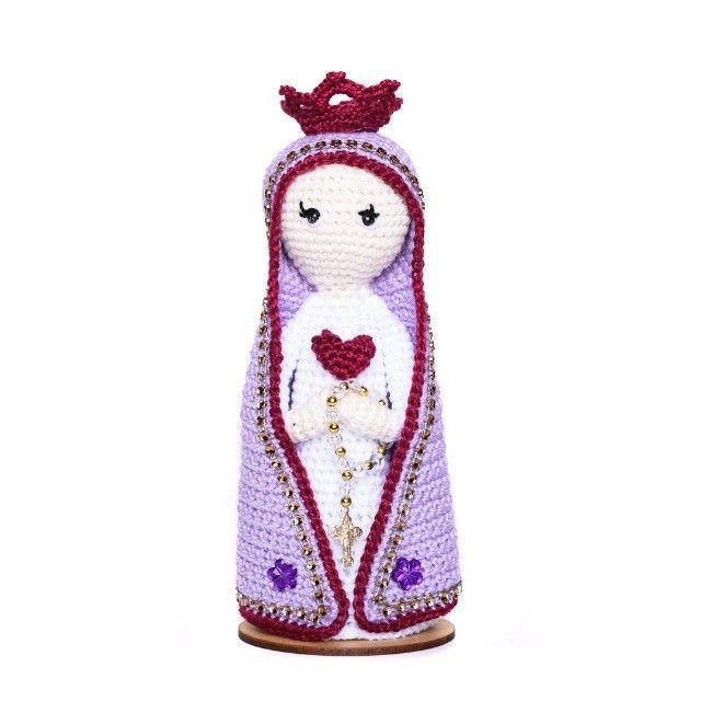 Nossa Senhora em amigurumi - Foto 2