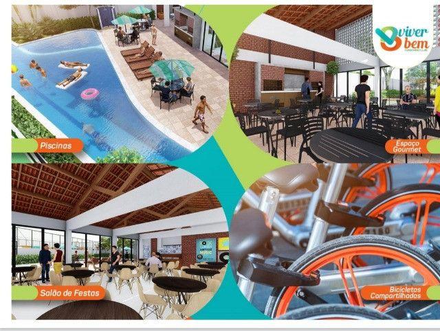 Apartamento no  condomínio clube Viver Bem, o mais completo de Caruaru - Foto 7