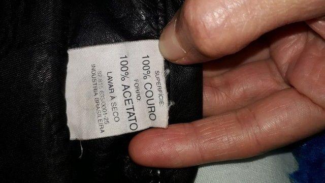 troco suéter feminino couro por outra roupa ou acessório  - Foto 2