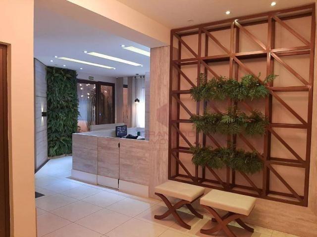Apartamento com 1 dormitório para alugar, 45 m² por R$ 1.350,00/mês - Zona 07 - Maringá/PR - Foto 11