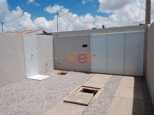 Casa com 2 dormitórios à venda, 81 m² por R$ 140.000,00 - Ancuri - Itaitinga/CE - Foto 3
