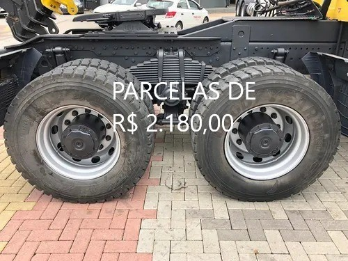 """Mercedes-Bens Axor 3344 2018 Munck Hyva Elevação 35 """"T"""" Entrada mais Parcelas com Serviço. - Foto 8"""