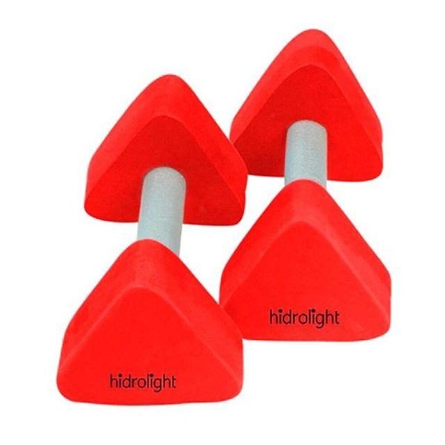 Halter Pirâmide EVA (1KG) - Vermelho Hidrolight Ref:2451610 /2451611