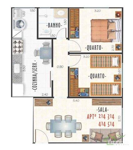 Apartamentos com 2 dormitórios à venda, a partir de R$ 219mil - Centro - Juiz de Fora/MG - Foto 5