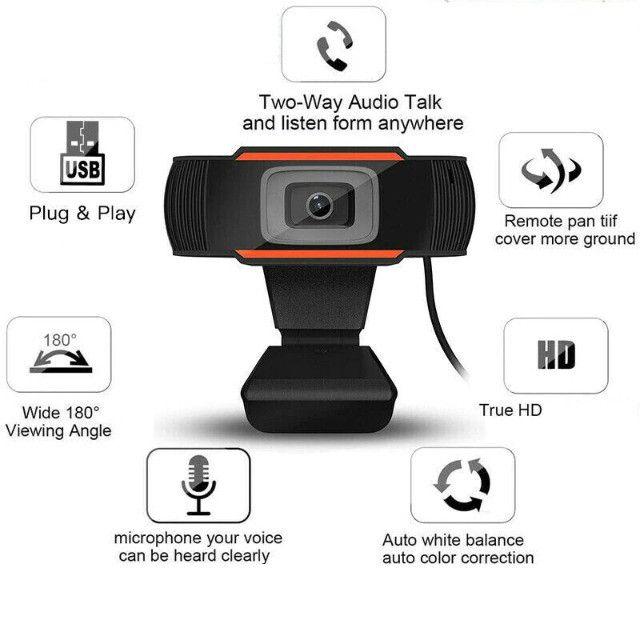 Webcam para Homeoffice, aulas e trabalhos online!!! - Foto 4