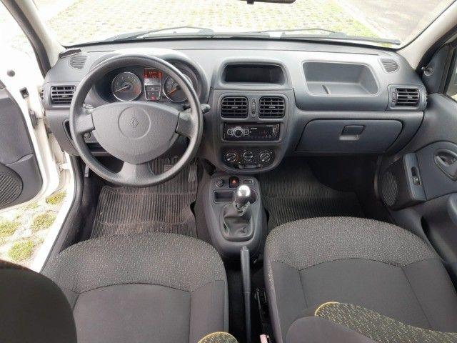 Renault Clio Expression Completo 1.0 4p 2014 Branco Novo Demais Excelente Carro - Foto 13