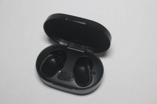 Fone de ouvido bluetooth E6s intra-Auricular TWS com display - Foto 2