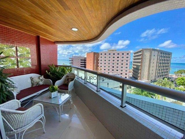 Apartamento com 3 dormitórios à venda, 164 m² por R$ 1.365.000,00 - Ponta Verde - Maceió/A - Foto 4