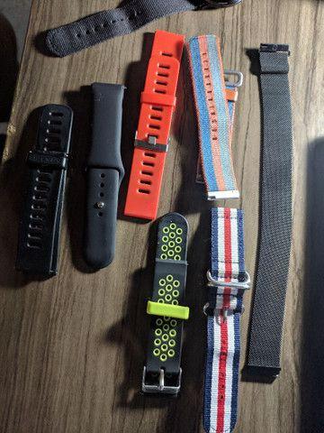 Smartwatch Amazfit PACE + 8 Pulseiras - Foto 2