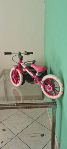 Bicicleta infantil sem pedal
