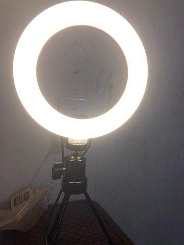 Iluminador de led com Tripe - Foto 5