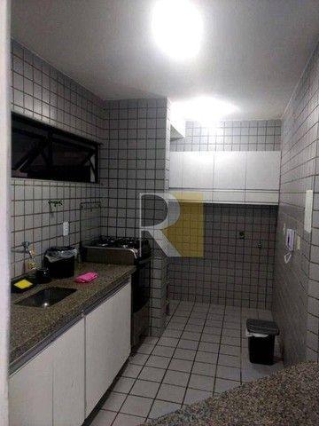 Apartamento Mobiliado com 1 dormitório para alugar, 58 m² - Manaíra - João Pessoa/PB - Foto 3