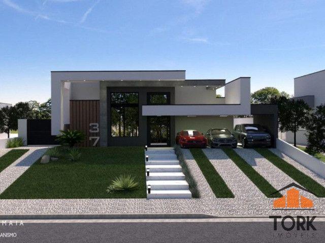 Condomínio Gramado casa a venda com 4 suítes - Foto 2