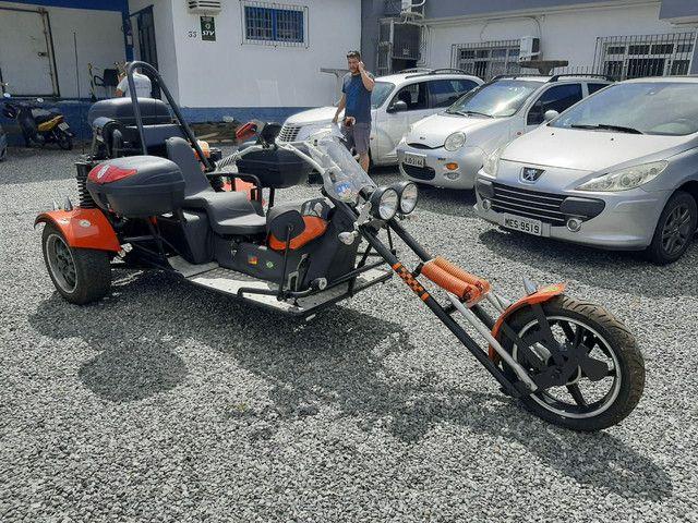 Triciclo 1600cc 2018 diferenciado exclusivo abaixo da tabela fipe 42 por 34.900 - Foto 6