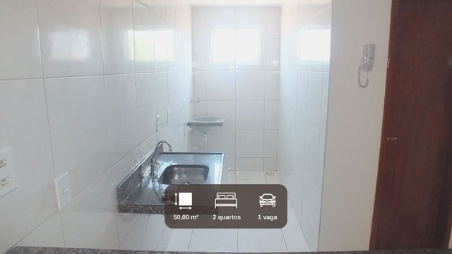 AP1686- Aluga Apartamento no Montese sem taxa de condomínio com 2 quartos 1 ou 2 vagas. - Foto 3