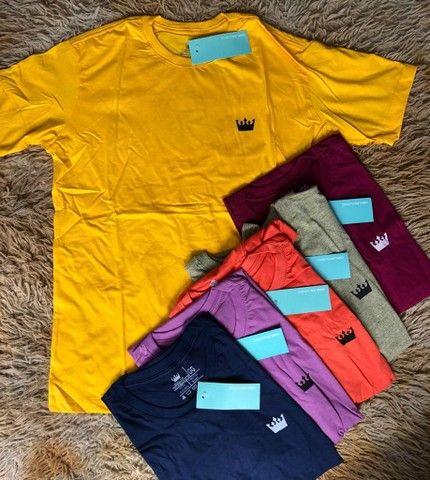 3 camisas básicas por R$120,00 - Foto 3