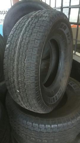 02 pneus novos 265/70/15 bridgestone