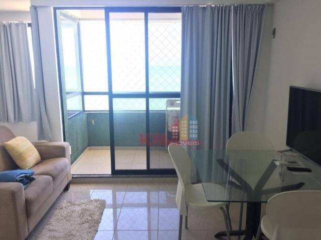 Apartamento em frente a praia de Areia Preta