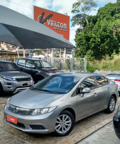 Attractive Honda Civic Lxs 2013 Automatico Couro 1.8 Flex