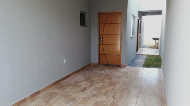 Casa em obra vale do sol 2/4 com suite, otimo acabamento - Foto 3