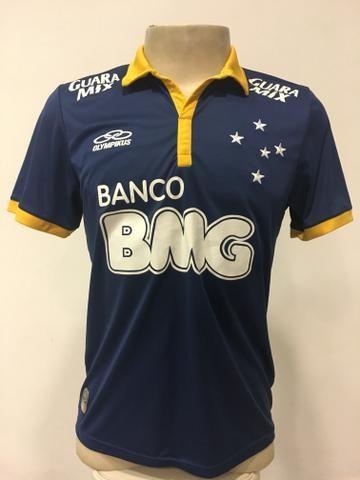65630d3ba0191 Camisa Olympikus Cruzeiro Fábio 2014 - Esportes e ginástica ...