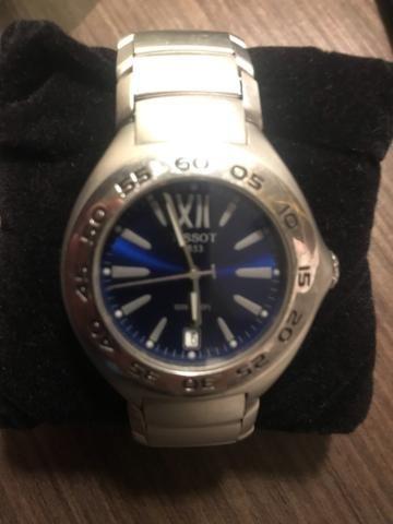 Relógio Tissot fundo Azul * Original * Aceito troca - Foto 2
