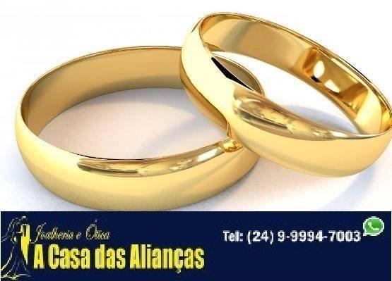 Alianças ouro 18 kilates / lindos modelos - Foto 2