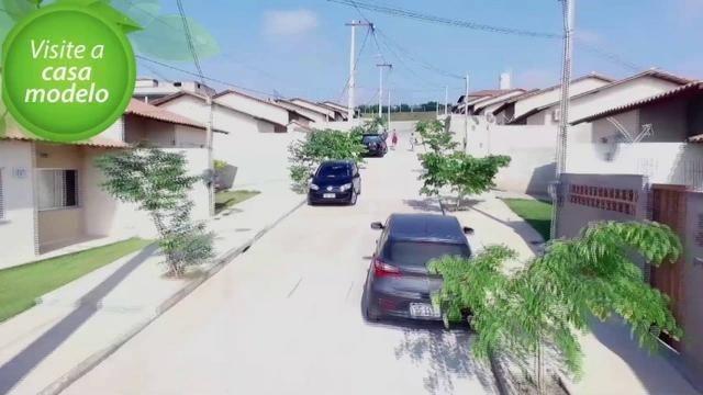 Lindas casas 02 qts quintal garagem ótima localização transporte na porta financiadas - Foto 3