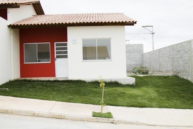 Lindas casas 02 qts quintal garagem ótima localização transporte na porta financiadas - Foto 11