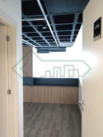 Sala comercial mobiliada   ed. helbor offices joinville - Foto 10