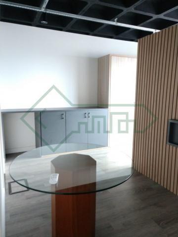 Sala comercial mobiliada   ed. helbor offices joinville - Foto 13