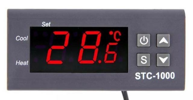 COD-AP16 Termostato Digital Stc-1000 Controlador De Temperatura 220V Automação
