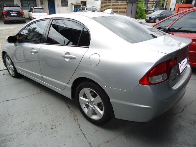Honda civic lxs 1.8 flex 4p ano 2008 prata - Foto 2