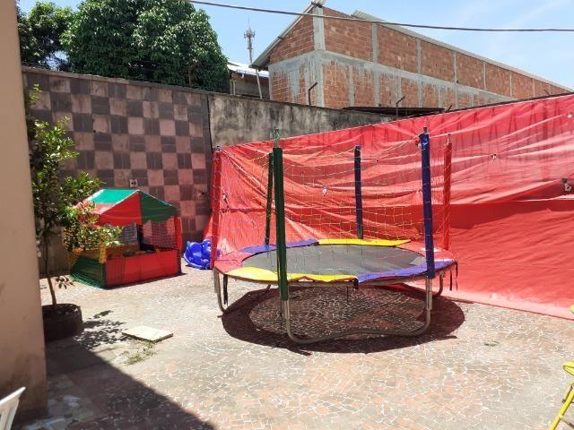 Aluguel de pula pula ,piscina de bolinhas,gangorra e castelinho com escorrega infantil