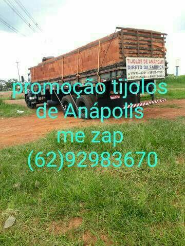 Tijolos de Anápolis  dereto da fábrica  a 6650$$ o milheiro  - Foto 3
