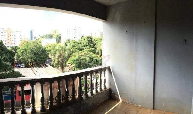 Apartamento com 2 dormitórios para alugar, 110 m² por R$ 1.900/mês - Centro - Foz do Iguaç - Foto 14