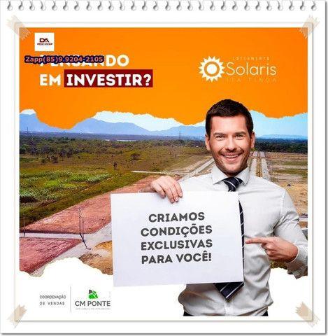 Loteamento Solaris em Itaitinga( Invista- ligue )$@#@ - Foto 7