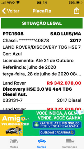 Discovery td6 hse 7 17/17 oportunidade! - Foto 7