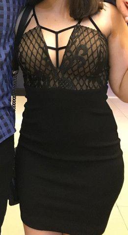 Vestido curto para festa - Foto 4