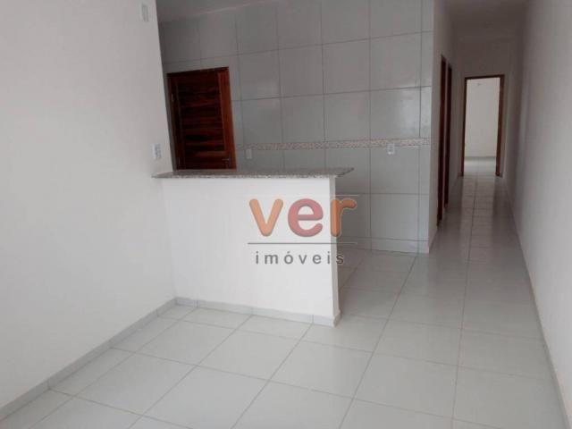 Casa com 2 dormitórios à venda, 81 m² por R$ 140.000,00 - Ancuri - Itaitinga/CE - Foto 5